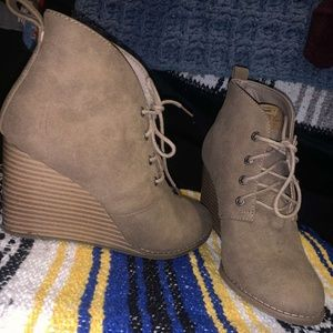 Nautica Booties Brown
